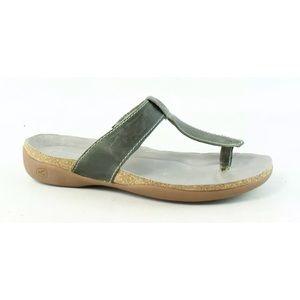 KEEN Womens Dauntless Malachite Flip Flops Size 5